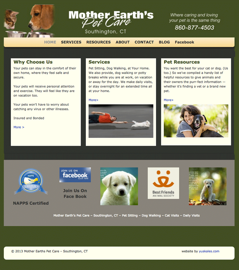 Mother Earths Pet Care